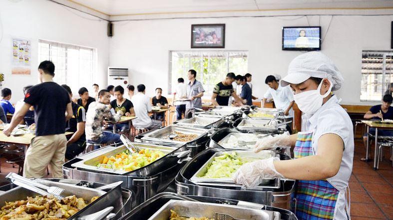 bếp ăn chế biến suất ăn công nghiệp