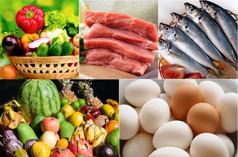 thực phẩm sạch chế biến suất ăn công nghiệp