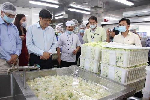 dịch vụ cung cấp suất ăn công nghiệp tại Thái Nguyên