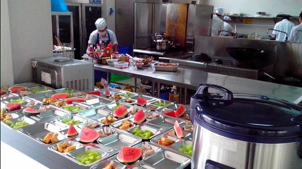 Dịch vụ cung cấp suất ăn công nghiệp Tiền Giang