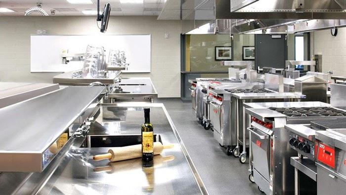 mô hình bếp công nghiệp
